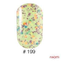 Гель-лак Naomi 6 мл Candy Bar 199 нежная лимонная карамель с конфетти