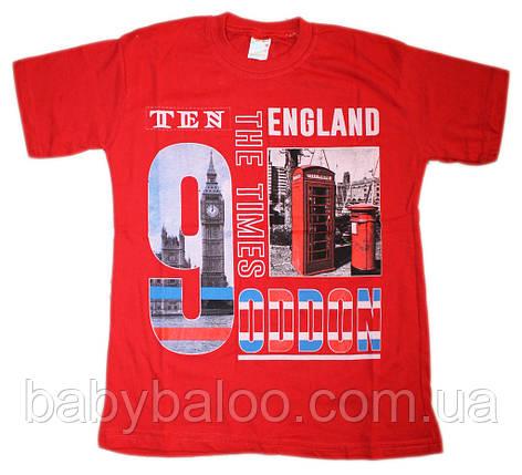 """Летняя футболка  для  мальчика """"England""""(от 8 до 10 лет), фото 2"""