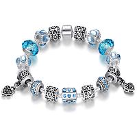 Женский браслет в стиле Pandora (пандора) на руку