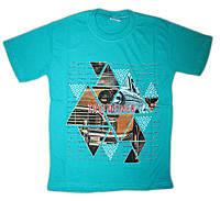 """Летняя футболка  для  мальчика """"TAXI""""(от 8 до 10 лет)"""