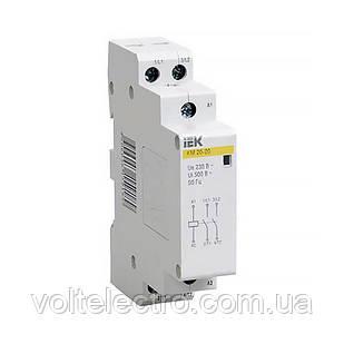 Контактор модульный КМ20-20 AC IEK