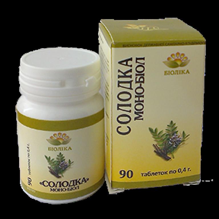 Моно-биол Солодка при аллергии - Салюс-экологически чистые продукты, натуральная косметика  в Одессе