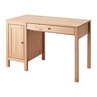 """ИКЕА """"ХЕМНЭС"""" Письменный стол, светло-коричневый, 120x55 см"""