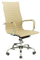 Кресло Slim HB (XH-632) мех., Tilt Светло бежевый