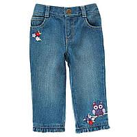 Детские джинсы для девочки.12-18 месяцев.