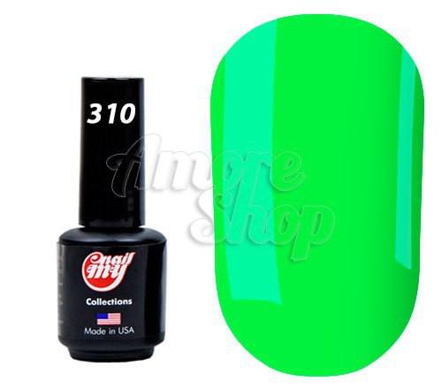 Гель-лак My nail №310 (очень яркий салатовый, неоновый), 9 мл