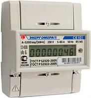 Счетчик электроэнергии CE 101 R5 145, Энергомера