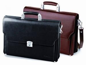 Мужские портфели из эко-кожи и кожзама