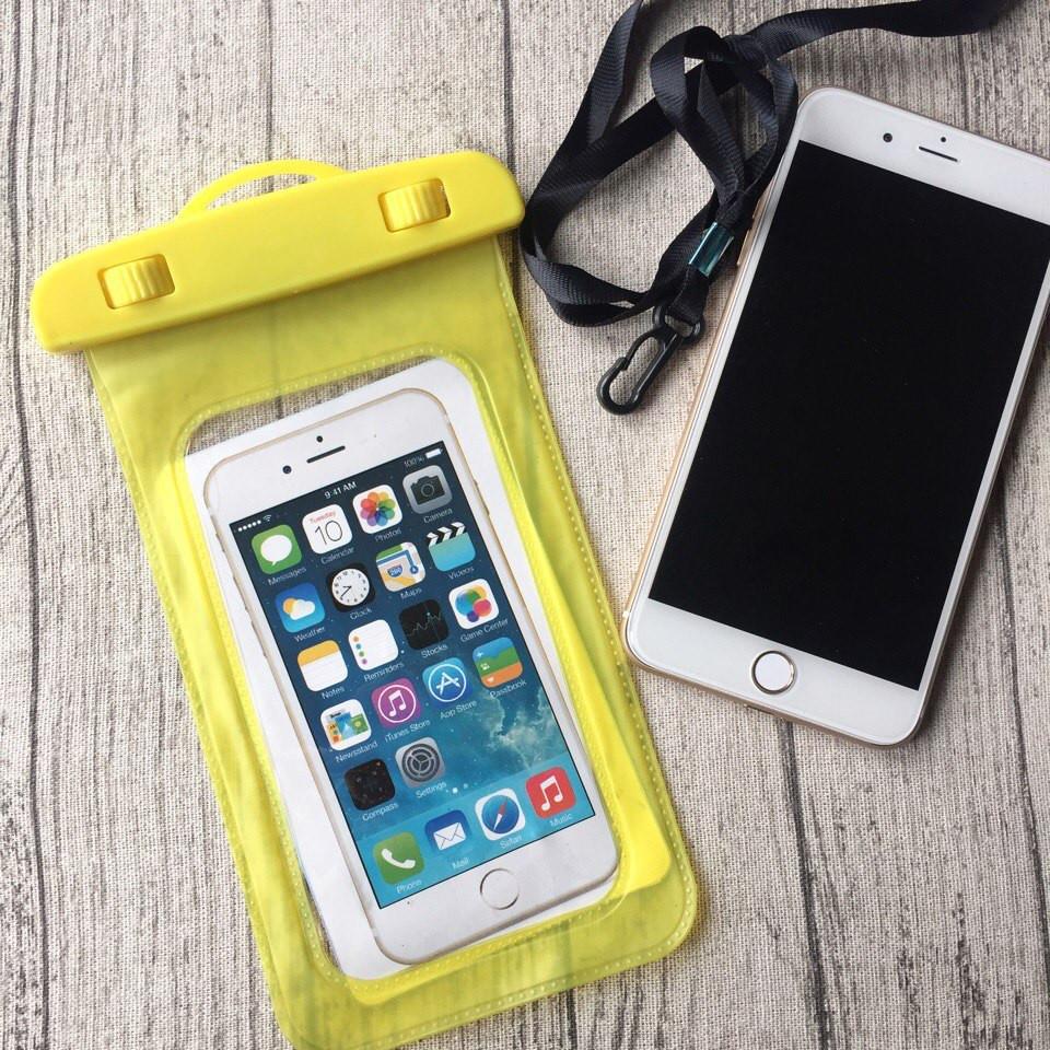 Водонепроницаемый жёлтый чехол для iPhone 6 Plus/6s Plus