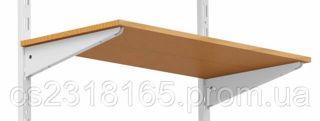 Кронштейн для консольной системы, 220мм, белый, коричневый