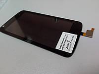 Дисплейный модуль для HTC Desire 326G Dual Sim (128mm) (black) Original