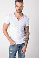 Мужская футболка De Facto светло-серого цвета