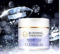 Крем для лица с бриллиантовой пудрой ELENSILIA Blooming Theraphy Diamond 1 Carat Tone up Cream 50 мл, фото 1