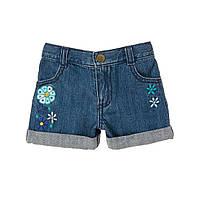 Детские джинсовые шорты для девочки 12-18, 18-24 месяца, 2 года
