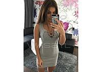 Стильное короткое платье, фото 1