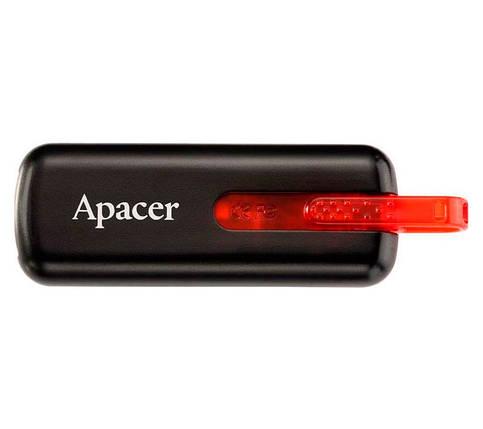 Флешка 8 Gb Apacer AH326 Black / AP8GAH326B-1, фото 2