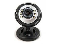 Веб-камера HQ-Tech WU-6651 Black, 2 Mpx, 1600x1200, USB 2.0, встроенный микрофон