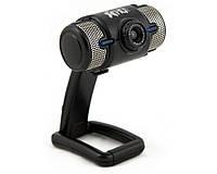 Веб-камера HQ-Tech WU-8019 Black, 2 Mpx, 1600x1200, USB 2.0, встроенный микрофон