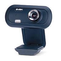 Веб-камера Sven IC-950 Black, 1.3 Mpx, 1280x720, USB 2.0, встроенный микрофон