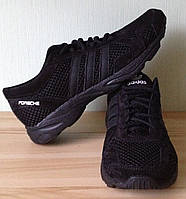 Adidas Porsche! Весенние кроссовки кожа сетка мужская Обувь кеды