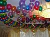 Шары, воздушные шарики под потолок на свадьбу Днепропетровск