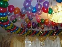 Шары, воздушные шарики под потолок на свадьбу Днепропетровск, фото 1