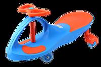 Детская машинка Bibicar (Бибикар) smart car, полиуретановые колеса Голубой