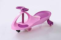 Детская машинка Bibicar (Бибикар) smart car, полиуретановые колеса Розовый