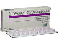 STOMORGYL СТОМОРДЖИЛ 20 мг противомикробный препарат, 10 таблеток