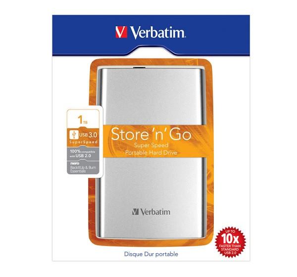 Внешний жесткий диск 1 Tb Verbatim Store