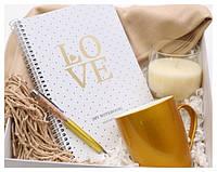 Подарочный набор стильный для девушки Gold Beauty