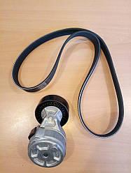 Комплект клиновых ремней ( с роликами )  KPV038