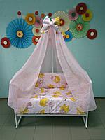 Детское постельное белье для новорожденного в кроватку