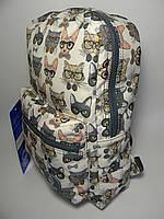 Женский рюкзак BagLand кошки