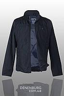 Куртка мужская тонкая TOMMY HILFIGER 2121 (B) тёмно-синяя, фото 1