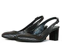 Черные босоножки туфли