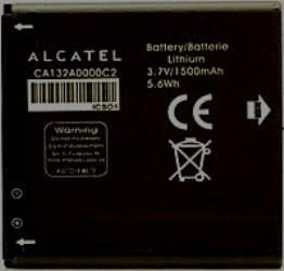 Аккумулятор Alcatel C5 / OT5036 CA132A0000C2, ОРИГИНАЛ