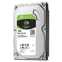 "Жесткий диск для компьютера 1 Тб Seagate BarraCuda, SATA 3, 64Mb, 7200 rpm (ST1000DM010), накопитель винчестер HDD 3.5"" 1 Tb для ПК"