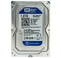 Жесткий диск для компьютера 1Tb Western Digital Blue, SATA3, 64Mb, 7200 rpm (WD10EZEX) (Ref)