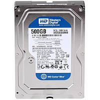 Жесткий диск 3.5' 500Gb Western Digital Blue, SATA3, 16Mb, 7200 rpm (WD5000AAKX) (Ref)