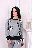 Спортивный костюм серый Турция