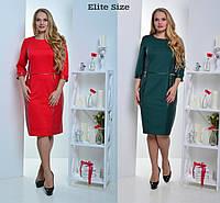 Нарядное женское платье в больших размерах w-t6151210
