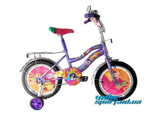 Детский велосипед Mustang Winx (16 дюймов)