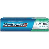 """Зубная паста Blend-a-med """"3D White Свежесть Мятный Поцелуй"""" 100 мл"""