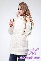 Демисезонная женская куртка большого размера (р. 42-54) арт. Адамина
