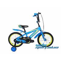 Детский двухколесный велосипед Azimut Stone 16 дюйм