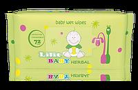 """Детские влажные салфетки """"LILIT Baby"""" Herbal"""