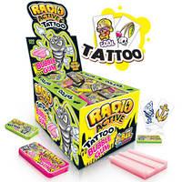 JOHNY BEE® RadioActive Gum + Tattoo