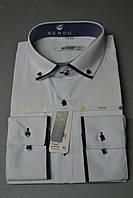 Приталенная белая рубашка BENDU , фото 1