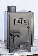Печь-буржуйка отопительно-варочная конвекционная Ярь 75м3-100м3
